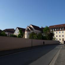 Ansicht von der Straße Hückedahl aus