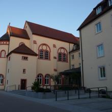 Ansicht vom Eingang Hückedahl