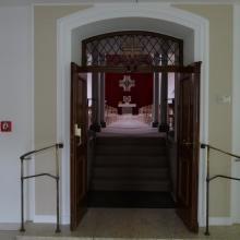 Eingang zur Mutterhaus-Kapelle