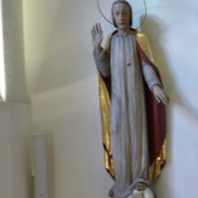 Herz-Jesu-Statue in der Mutterhaus-Kapelle