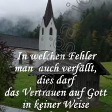 Nr. 397  /  Motiv: Wallfahrtskirche in Kronburg bei Zams/Tirol