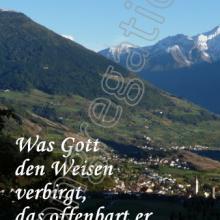Nr. 408  / Motiv: Vintschgau/Südtirol