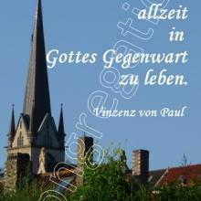 Nr. 421  / Motiv: Turm der Christuskirche, Hildesheim-Moritzberg