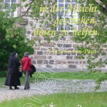 Nr. 440 / Motiv: Weg auf dem Gelände des Klosters Marienrode bei Hildesheim