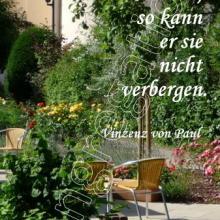 Nr. 454 / Motiv: im Mutterhaus-Garten