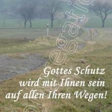 Nr. 471 / Motiv: Feldweg beim Hildesheimer Ortsteil Marienrode