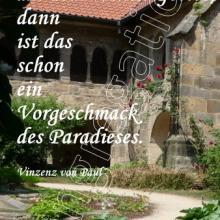 Nr. 490 / Motiv: Kreuzgang des Hildesheimer Domes