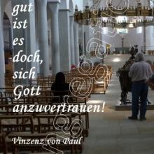 Nr. 495 / Motiv: Im Hildesheimer Dom