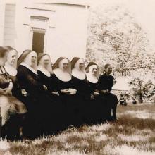 Schwester im Krankenhaus St. Vinzenz in Braunschweig (1935)