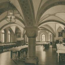 Refektorium im Mutterhaus (vor 1945)