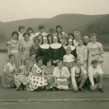 Ausflug mit Mitarbeiterinnen (um 1965)
