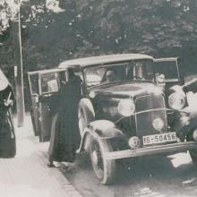 St. Theresienstift in Liebenburg: Besuch aus dem Mutterhaus (etwa 1936)